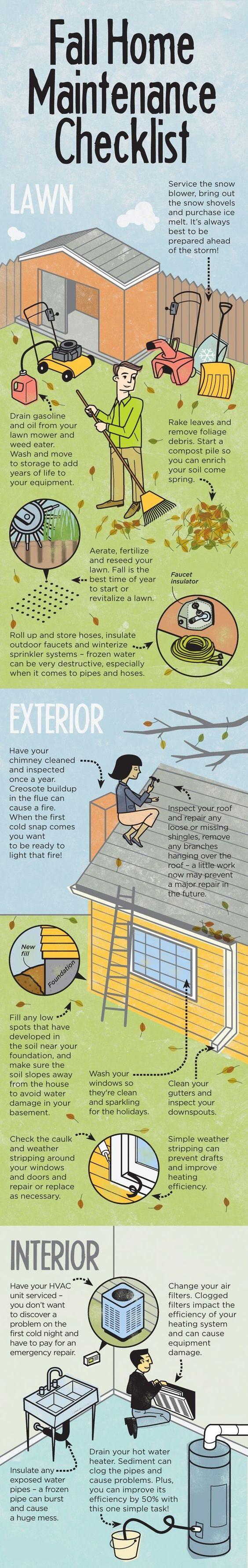 Fall Time Home Maintenance