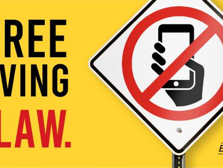 Are You Ready?? Hands-Free While Driving –  Starts Sunday