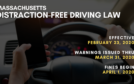 Massachusetts Hands Free Driving Law Begins February 23rd!