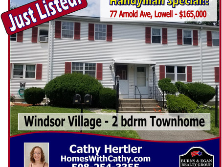 New to the Lowell Housing Market!