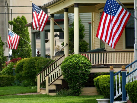 In honor of flag day!