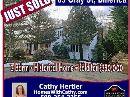 Billerica Home - Just Sold