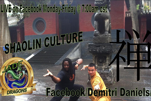 Shaolin Culture LIVE Donation
