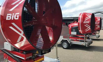 8 neue Mobile Grosslüfter im Kanton Aargau