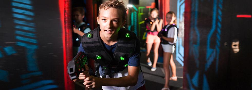 Castle Laser Tag Birthday Laser Header 2