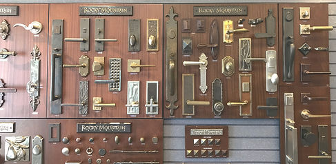 rocky mountain door hardware