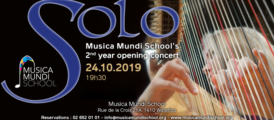 2nd Year Opening Concert - SOLO