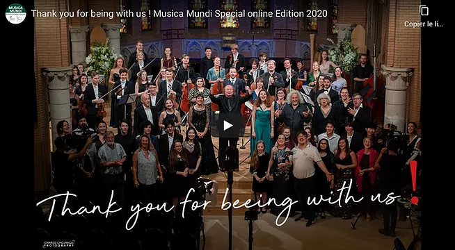 Nice memories from our Musica Mundi Special Edition 2020
