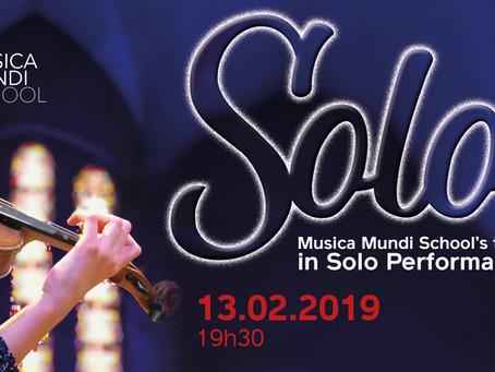 Musica Mundi School's talents  in Solo Performances