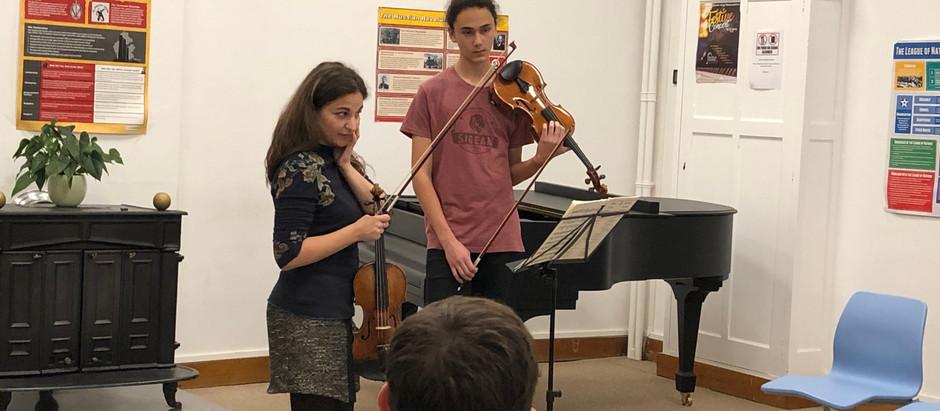 Alexandra Soumm – Violin Workshop
