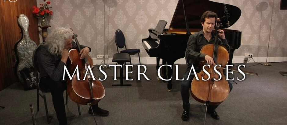 Great Maestros in Master Class !