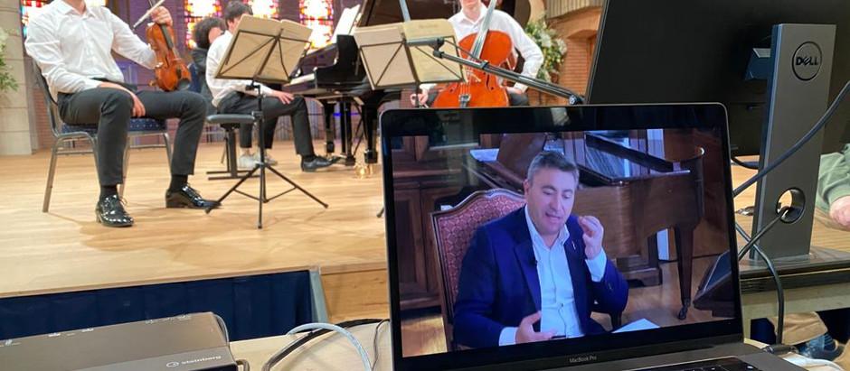 📡🎶🎻 Masterclasses with Maxim Vengerov