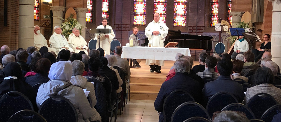 Centenary Congregation celebration of the Dominican Missionary nuns of Fichermont