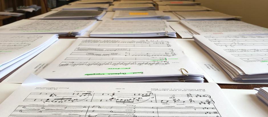 Course repertoire in preparation.