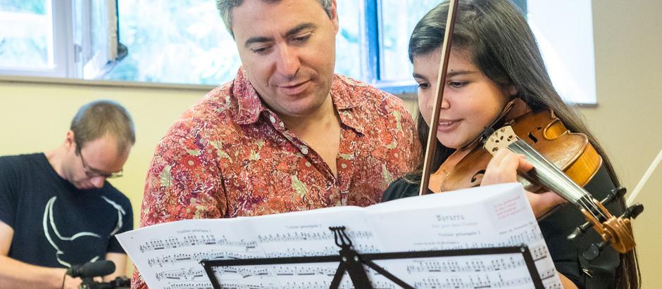 Maxim Vengerov in Musica Mundi School - 24/25.6.2019