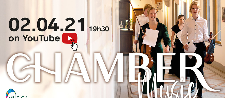 Chamber Music this April 2nd !  and more...