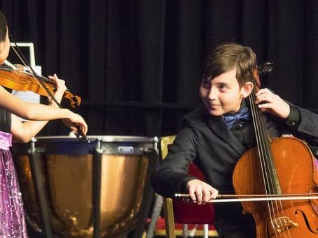 Musica Mundi School's Young Talents Perform a Festive Concert