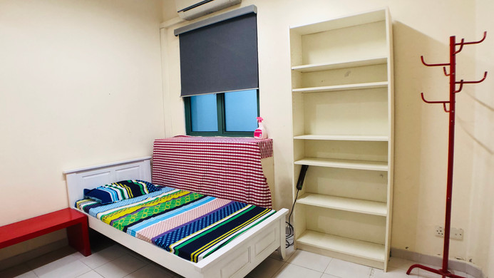 Premium Single Room with Attached Washroom