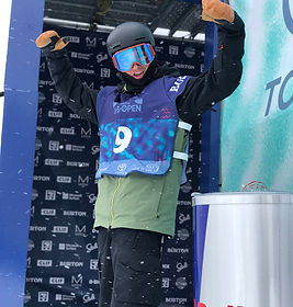 Dropping in at the Burton US Open