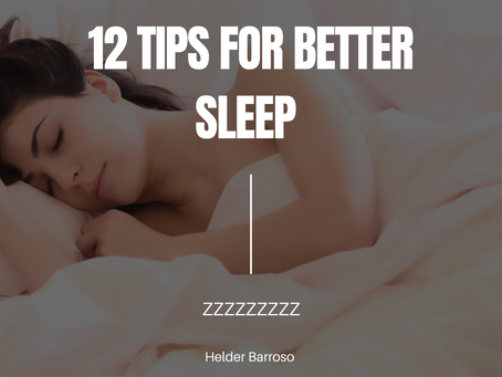 Twelve ways to improve your sleep