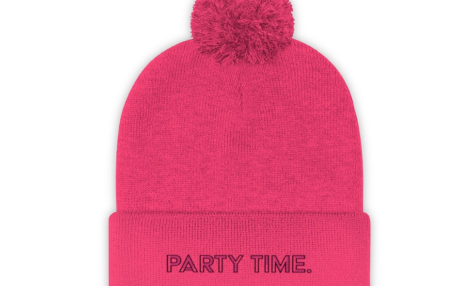 Pom Pom Party Time Hat