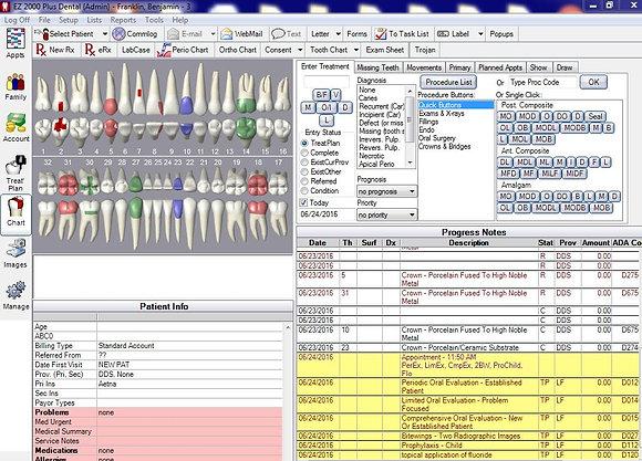 EZ 2000 Plus Dental Software