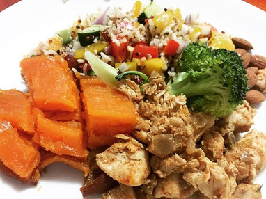 E A S Y SPICED CHICKEN__700g diced chick