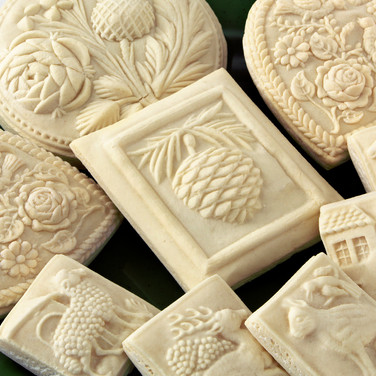 thistle rose cookie springerle house on
