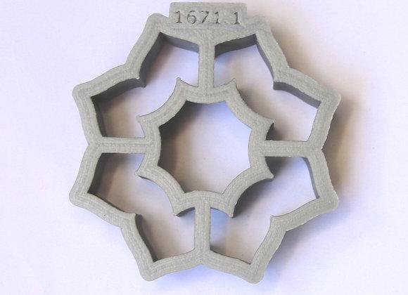 AP C - 1671.1 Bridged Heart Ornament cookie cutter Gingerha