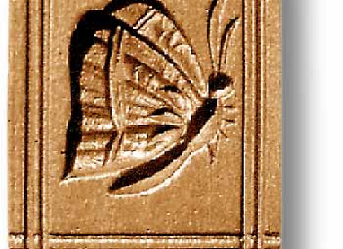 Butterfly springerle cookie mold by Anis Paradies 3423
