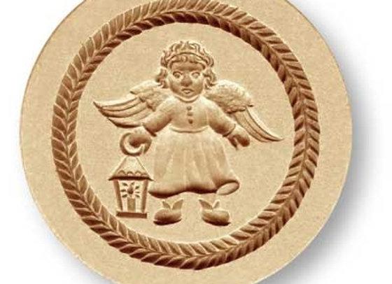 AP1248 Angel with Lantern springerle cookie mold by Anis-Paradies