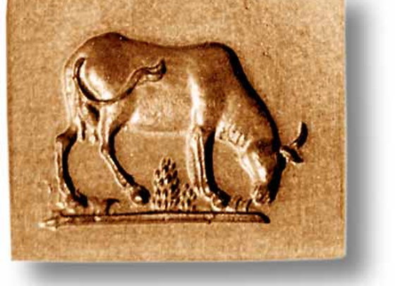 AP 3459 Grazing Cow springerle cookie mold by Anis-Paradies