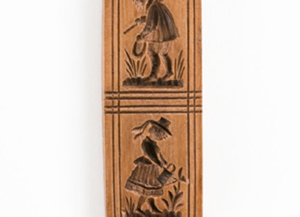 Gardener Pair Springerle Cookie Mold  by House on the Hill M4110