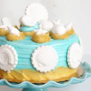 Seashell Cake clamshell scallop nauticus