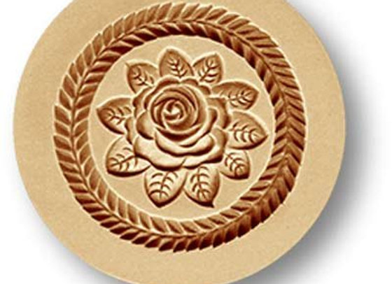 AP 2328 Rose Blossom springerle cookie mold by Anis-Paradies