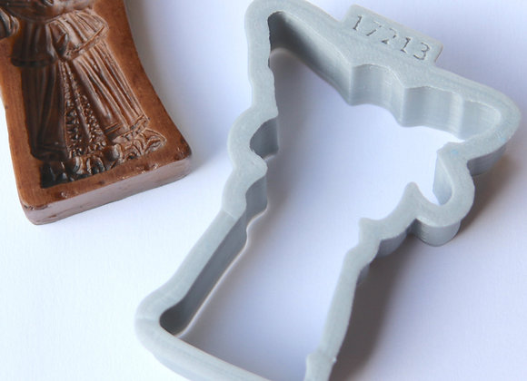 APC - 5300 Mandolin Angel cookie cutter by Gingerhaus 17213