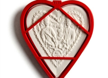 C - 5138 Loving Couple Heart cookie cutter by Gingerhaus 17236