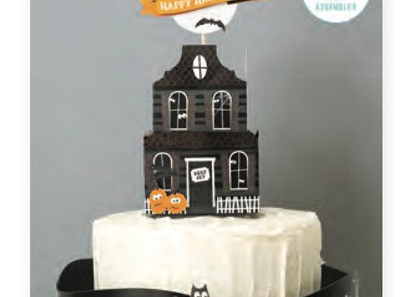 Halloween Cake Topper Decorating Kit KBHAL-topper