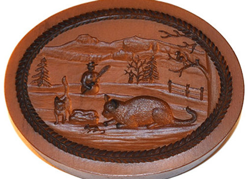 Winter Springerle Cookie Mold  by House on the Hill M5714