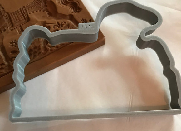 C - 3448 Horse cookie cutter by Gingerhaus