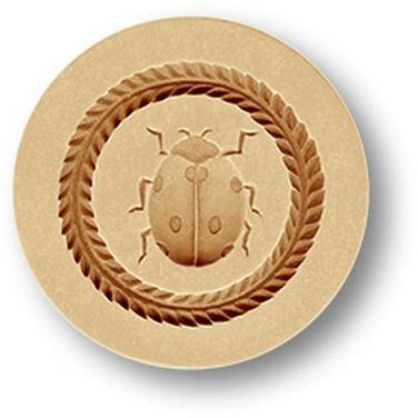 Lucky Lady Bug springerle cookie mold