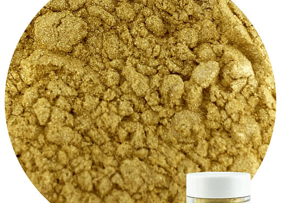 43-11527 Edible Luster Dust - Satin Gold - by CK Products