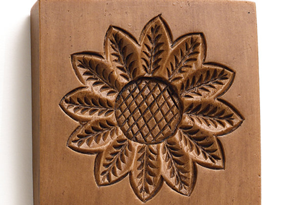 Sunflower flower Springerle Cookie Mold  by House on the Hill M6103