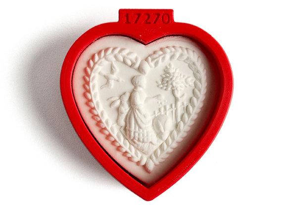 C - 17270 Small Heart cookie cutter - Gingerhaus 17270