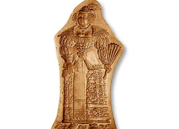 AP 5843 Baroque Woman springerle cookie mold by Änis-Paradies