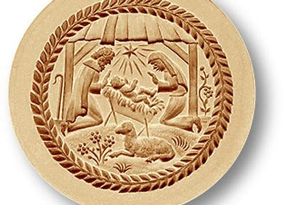 AP1241 Christmas Creche Nativity springerle cookie mold by Anis-Paradies 1241