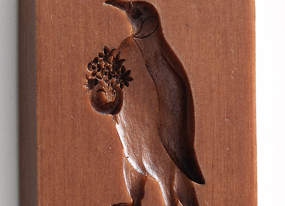 M6105 Penguin Springerle Cookie Mold  by House on the Hill