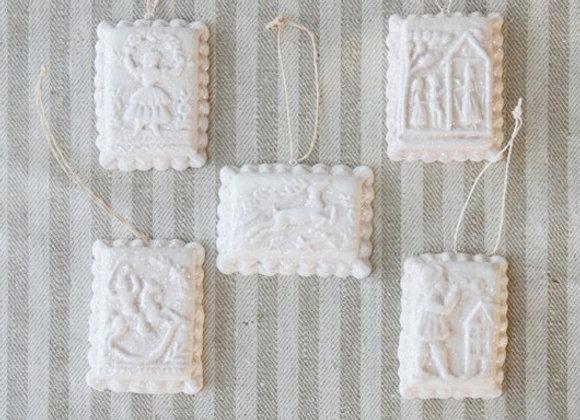 Springerle Cookie Ornaments by Gingerhaus