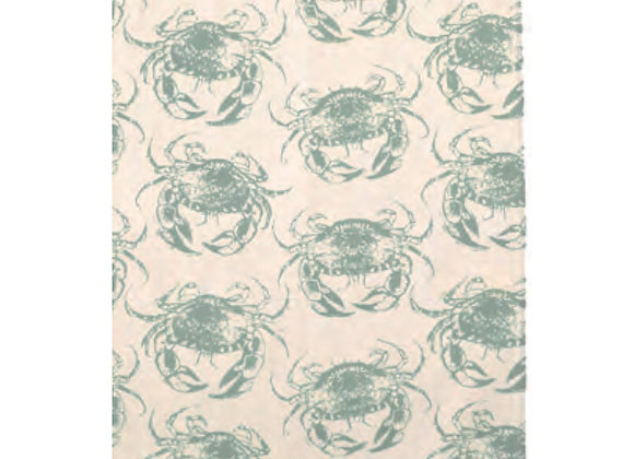 022CRA Crab Cotton Tea Towel By Ulster Weavers