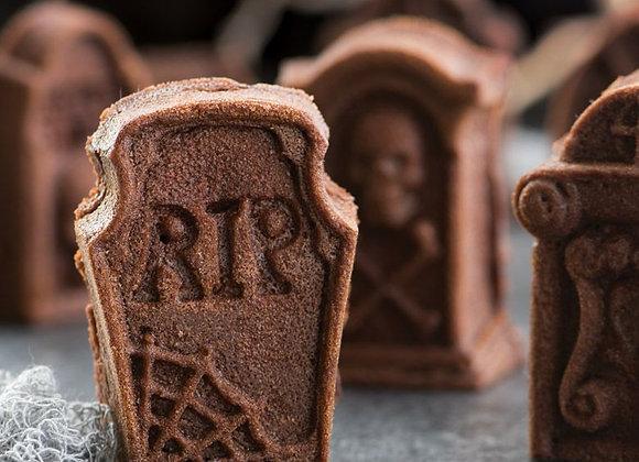 Tombstone bundt cakelet pan by Nordic Ware 918488